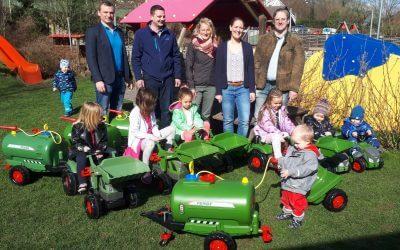 Fendt Fuhrpark – Kindergarten Schleißheim