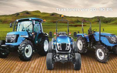 NEU: SOLIS Traktoren